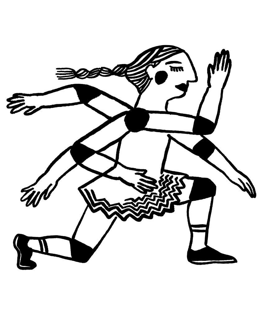 Atelier danse / © Magali Bardos