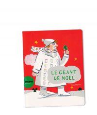 Le Géant de Noël © Magali Bardos actes sud junior calendrier de l'avent livre pour enfant album jeunesse rouge 24 poches grands manteaux