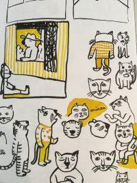 Illustrations recherches chat / ©Magali Bardos