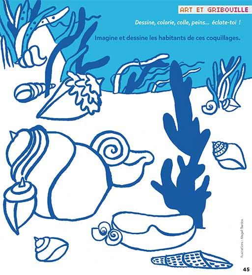 illustration jeux / Petites mains / © Magali Bardos