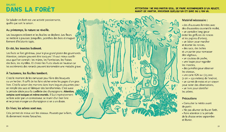 écologie & environnement Magali Bardos Catherine Stern documentaire actes sud junior expériences activités jeux dans la forêt