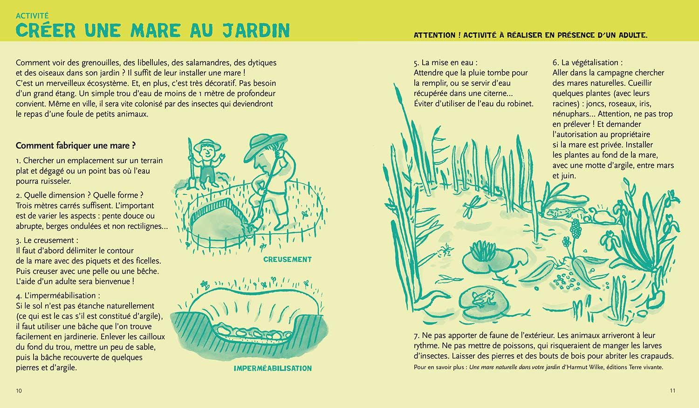 écologie & environnement Magali Bardos Catherine Stern documentaire actes sud junior expériences activités jeux créer une mare au jardin