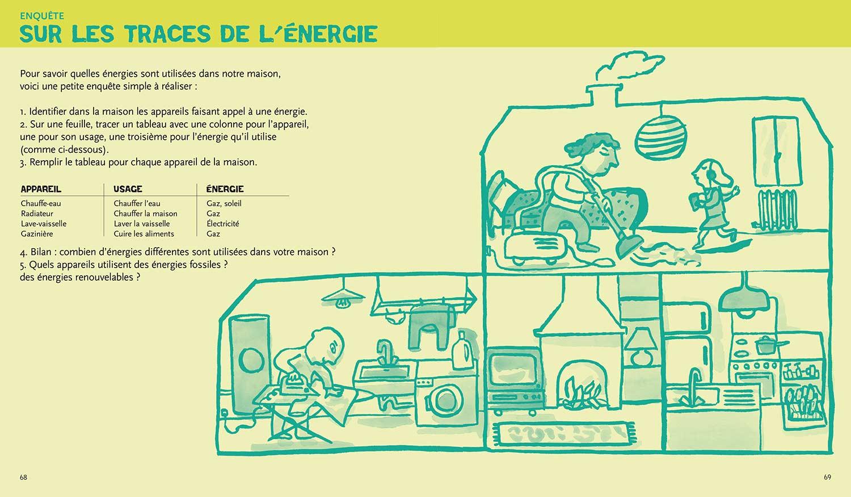 écologie & environnement Magali Bardos Catherine Stern documentaire actes sud junior expériences activités jeux éléctroménager aspirateur fer à repasser consommation d'énergie dans la maison