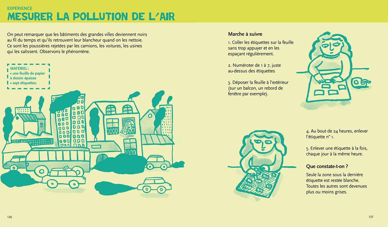 écologie & environnement Magali Bardos Catherine Stern documentaire actes sud junior expériences activités jeux photos mesurer la pollution de l'air